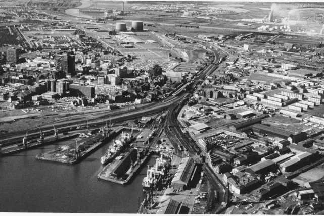 Aerial Photograph - Middlesbrough