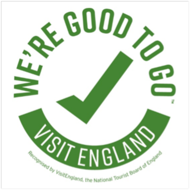 Good to go - Visit England Logo
