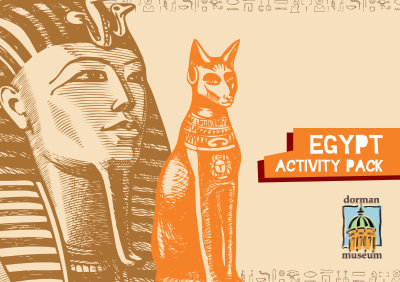 Egypt activity pack cover image